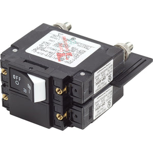Blue Sea 7466 UL-489 Circuit Breaker - 30A Raised Rocker [7466]