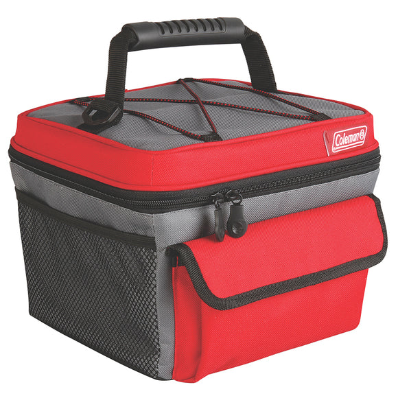 Coleman 10 Can Rugged Lunch Box - Red [2000013734]
