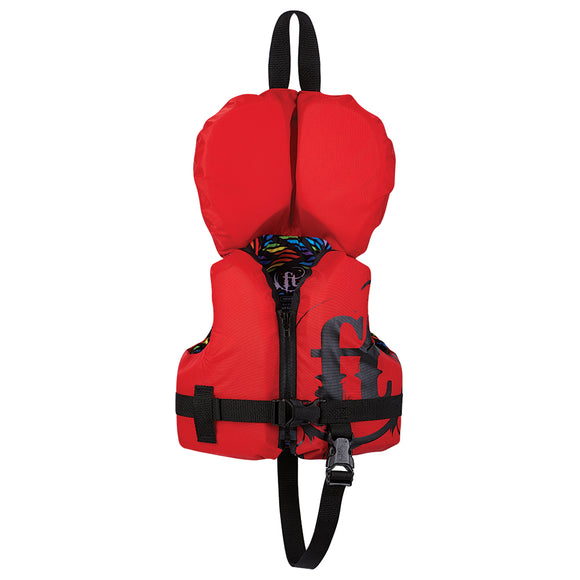 Full Throttle Infant Nylon Life Vest - Infant Less Than 30lbs - Red [112400-100-000-19]