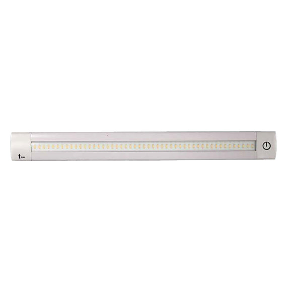 Lunasea Adjustable Linear LED Light w-Built-In Dimmer - 12