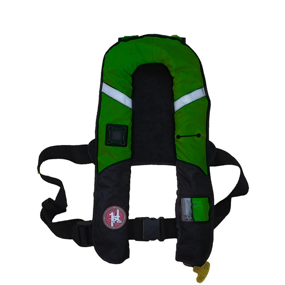 First Watch 38 Gram Pro Inflatable PFD - Manual - Green [FW-38PROM-GN]