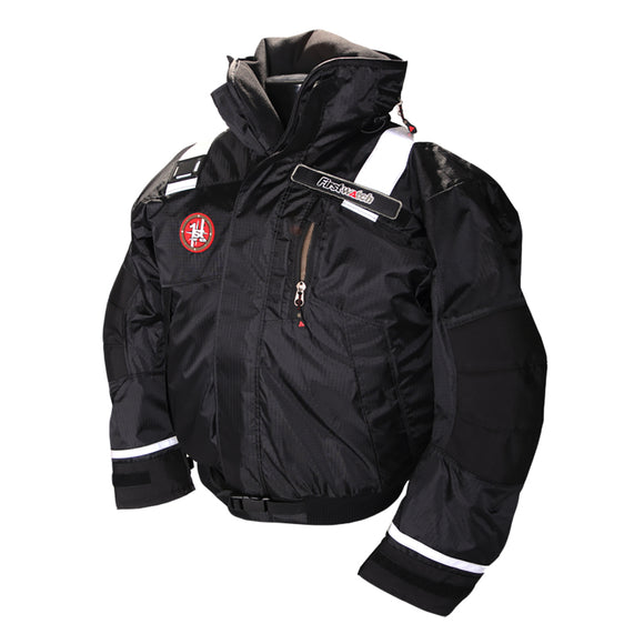 First Watch AB-1100 Pro Bomber Jacket - Large - Black [AB-1100-PRO-BK-L]