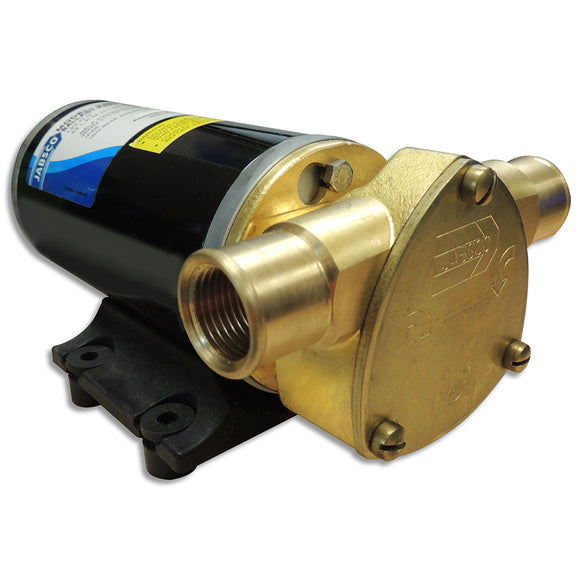 Jabsco Ballast King Bronze DC Pump w-Deutsch Connector w-o Reversing Switch - 15 GPM [22610-9407]