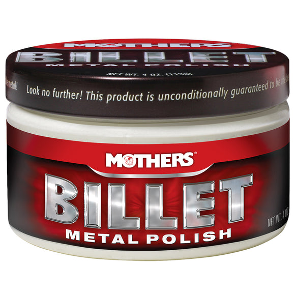 Mothers Billet Metal Polish - 4oz. [05106]