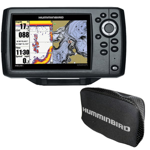 Humminbird HELIX 5 Chirp GPS G2 Combo w-Free Cover [410210-1COVER]