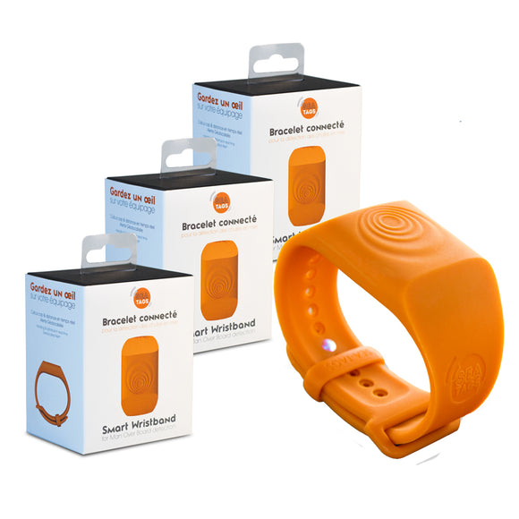 Sea-Tags MOB Smart Wristband - 3-Pack [ST002-3PACK]