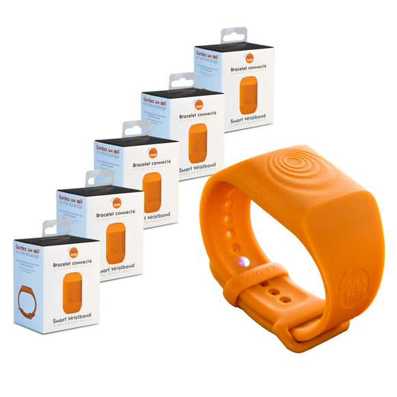 Sea-Tags MOB Smart Wristband - 5-Pack [ST002-5PACK]