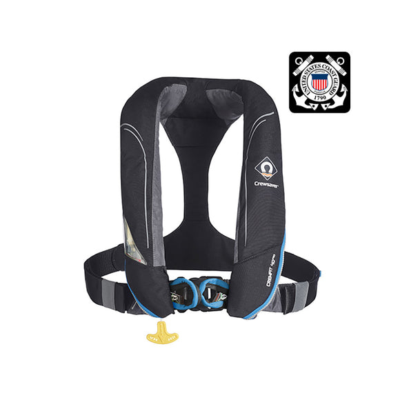Crewsaver Crewfit 40 Pro USCG Manual Life Jacket w-Harness [55-9504BKMH]