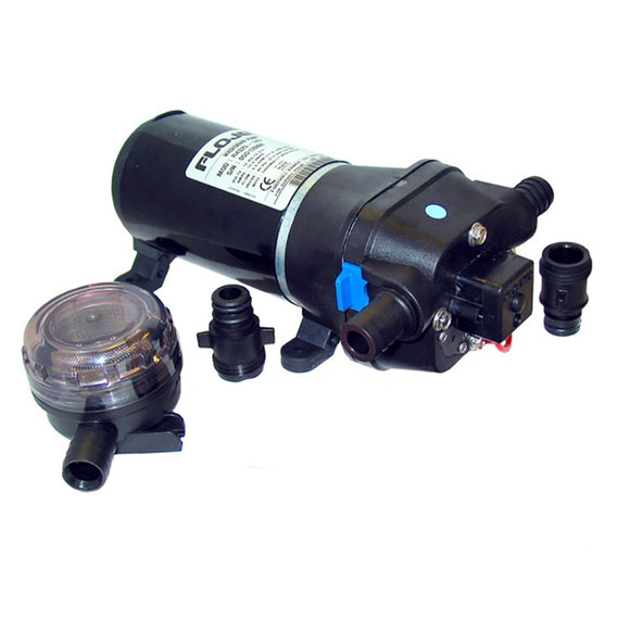 FloJet 24V, 40psi Heavy Duty Water Pressure Pump - 4.3 GPM [04325343A]