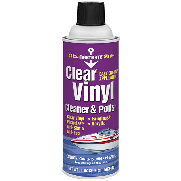 MARYKATE Clear Vinyl Cleaner and Polish - 14oz [1007624]