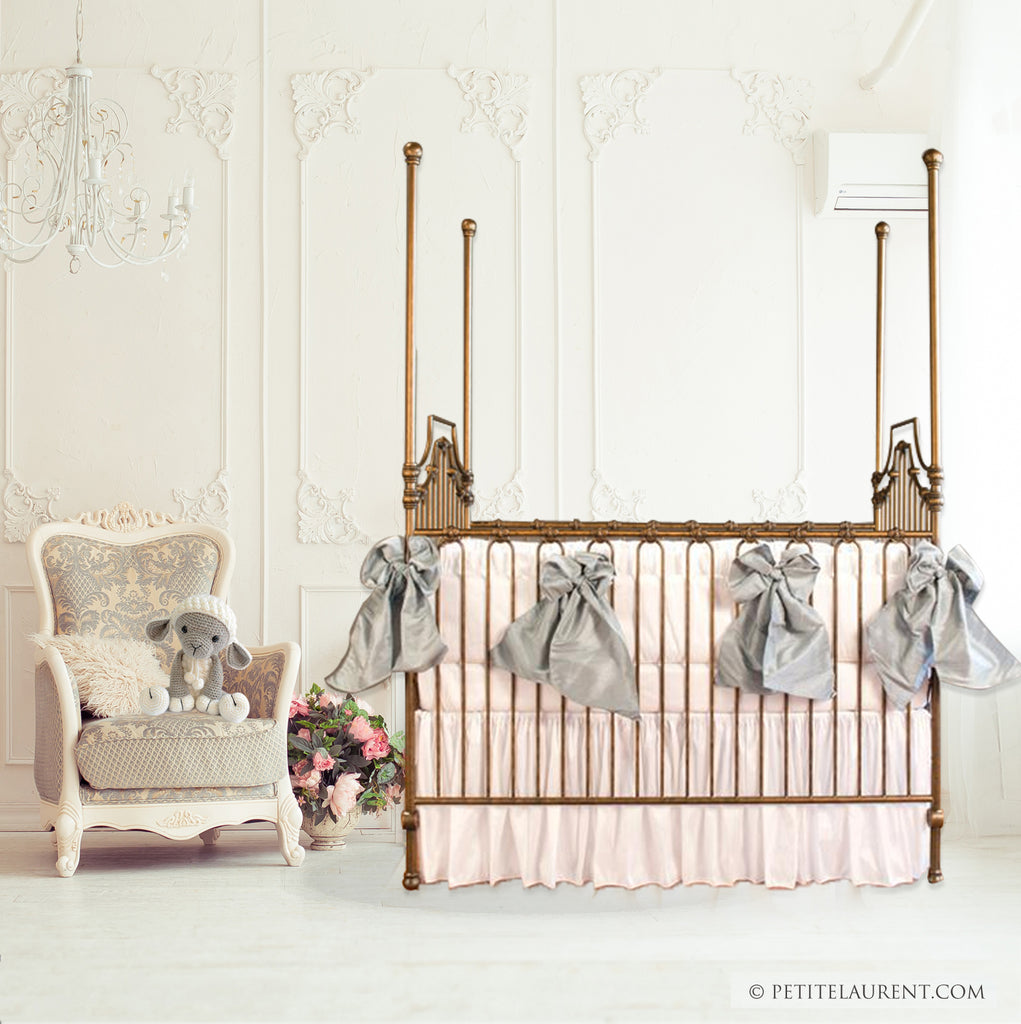 Parisian 9 in 1 crib vintage gold by bratt decor luxury baby cribs