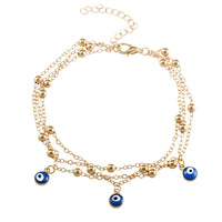 Turkish Eyes Beads Anklets Sandals