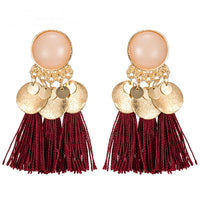 Tassel Dangle Bohemian Drop Earrings