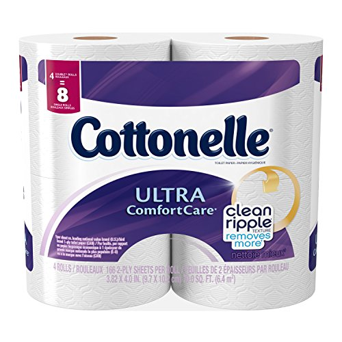 Cottonelle Ultra Comfort is great when used with moisture