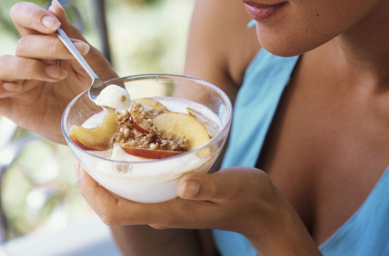 Yogurt is a good source of probiotics