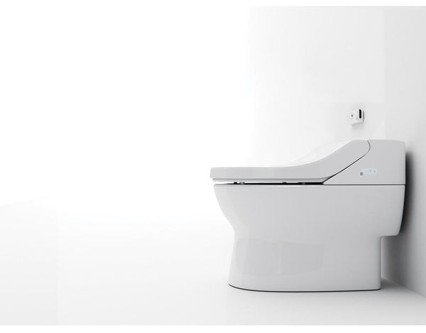 Combo Toilet Bidet is a toilet with a built in bidet