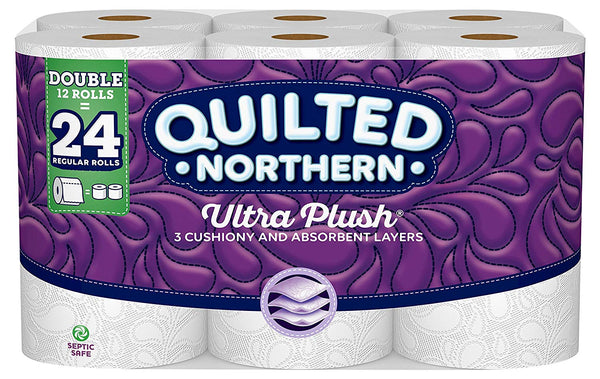 Quilted Northern is creates a better clean when used with Öspray