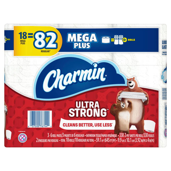 Charmin Ultra Strong is great when used with Öspray