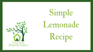 Simple Honey Lemonade Recipe