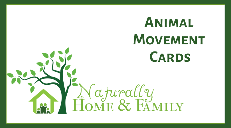 Kids Activity - Movement Cards