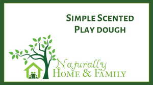 Simple Scented Play Dough