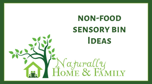 Non-Food Sensory Bin Ideas