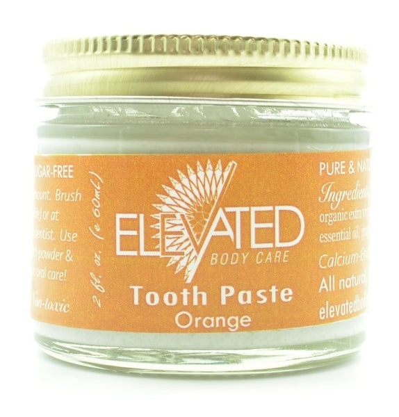 Elevated - Natural Toothpaste (glass jar)