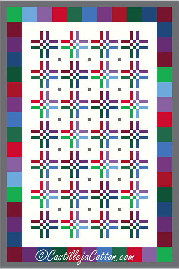9 Patch Bars Quilt Pattern - [product-vendor] - Craftco Ltd - NZ