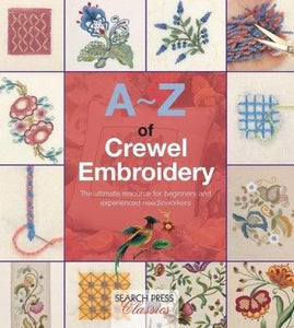 A-Z of Crewel Embroidery - [product-vendor] - Craftco Ltd - NZ