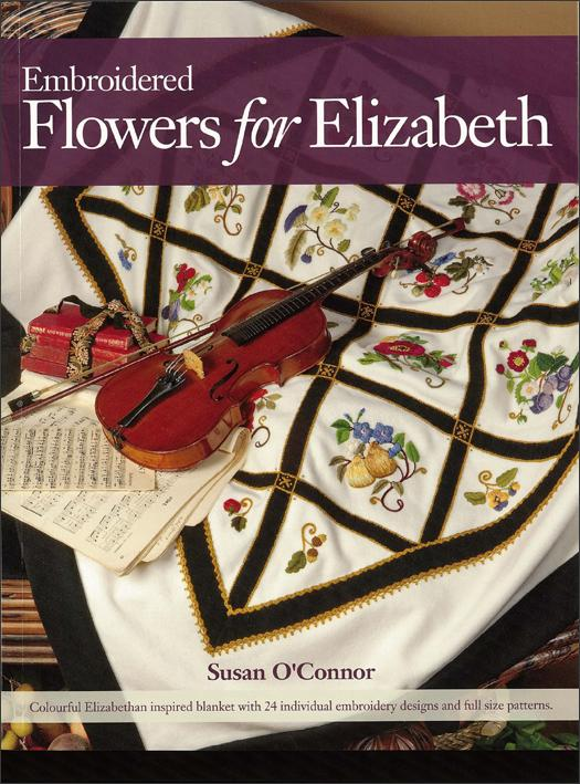 Embroidered Flowers for Elizabeth - [product-vendor] - Craftco Ltd - NZ