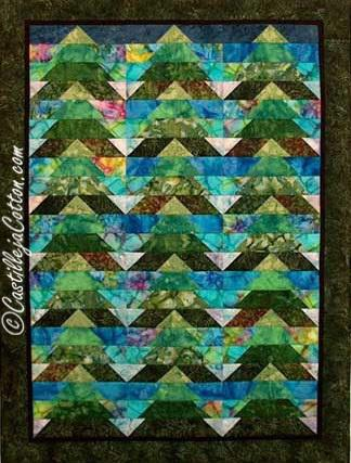 Enchanted Forest Quilt Pattern - [product-vendor] - Craftco Ltd - NZ