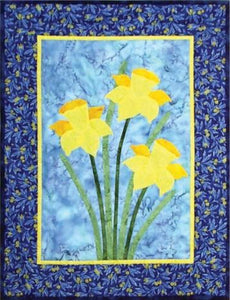 Daffodil Flowers Quilt Pattern - [product-vendor] - Craftco Ltd - NZ