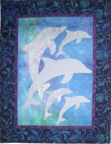 Dancing Dolphins Quilt Pattern - [product-vendor] - Craftco Ltd - NZ
