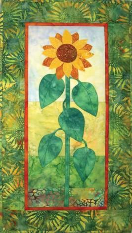 Landscape Sunflower Quilt Pattern - [product-vendor] - Craftco Ltd - NZ