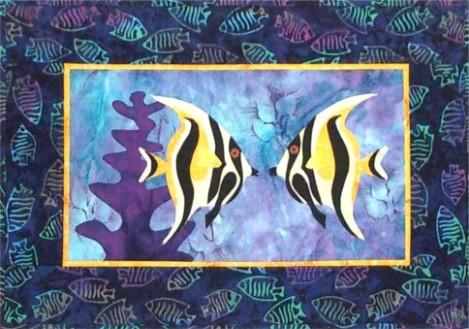 Nose to Nose Fish Quilt Pattern - [product-vendor] - Craftco Ltd - NZ