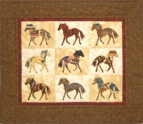 Painted Ponies Quilt Pattern - [product-vendor] - Craftco Ltd - NZ