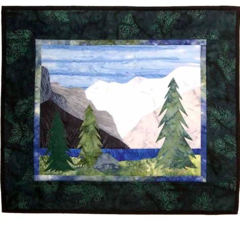 Ice and Rocks Mountains Quilt Pattern - [product-vendor] - Craftco Ltd - NZ
