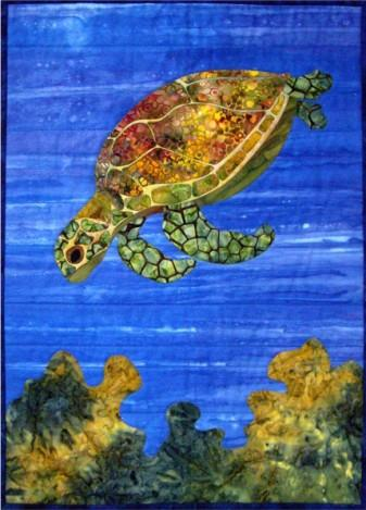 Mortimer the Turtle Quilt Pattern - [product-vendor] - Craftco Ltd - NZ