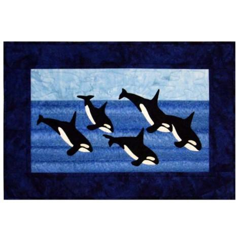 Orca Whale Pod Quilt Pattern - [product-vendor] - Craftco Ltd - NZ