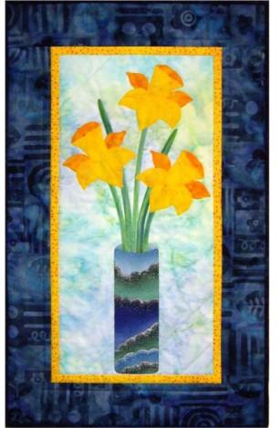 A Touch of Spring Daffodil Flowers Quilt Pattern - [product-vendor] - Craftco Ltd - NZ