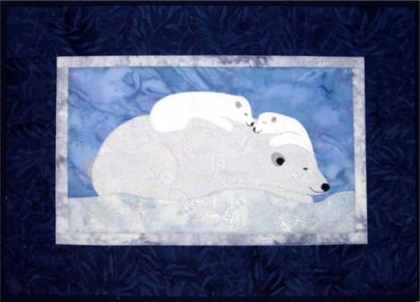 Polar Bears Winter Nap Quilt Pattern - [product-vendor] - Craftco Ltd - NZ