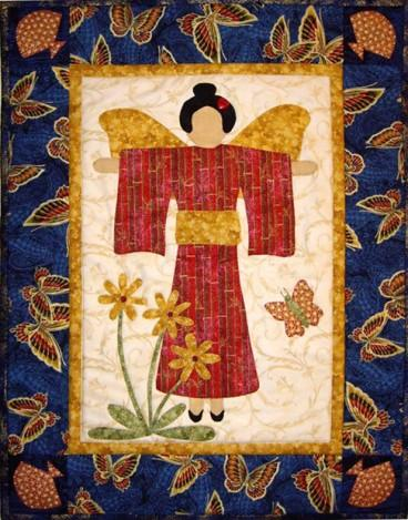Asian Angel Quilt Pattern - [product-vendor] - Craftco Ltd - NZ
