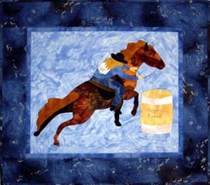 Go Fast Barrel Racer Quilt Pattern - [product-vendor] - Craftco Ltd - NZ