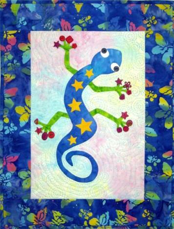 Funky Gecko Quilt Pattern - [product-vendor] - Craftco Ltd - NZ