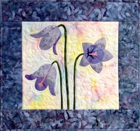 Delicate Bell Flowers Quilt Pattern - [product-vendor] - Craftco Ltd - NZ