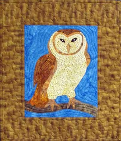 Barney the Owl Quilt Pattern - [product-vendor] - Craftco Ltd - NZ