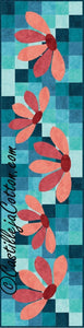 Blooming Flowers Table Runner Quilt Pattern - [product-vendor] - Craftco Ltd - NZ