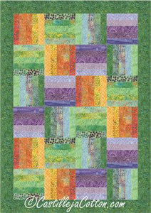 Emerging Pinwheels Quilt Pattern - Tahiti - [product-vendor] - Craftco Ltd - NZ