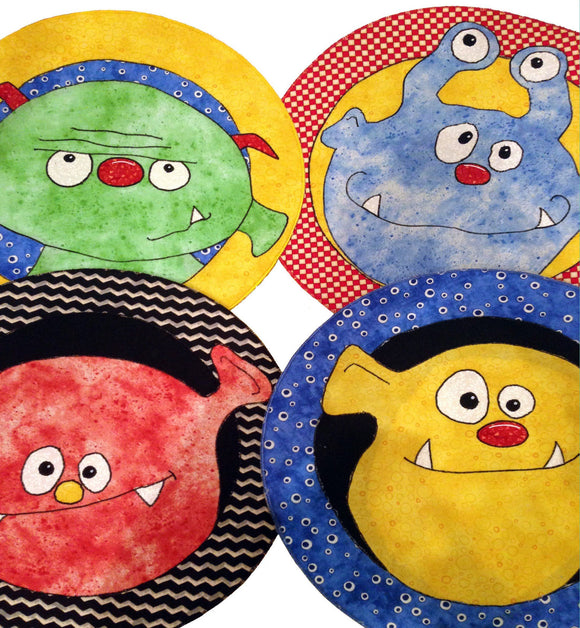Monster Mats 16x16in Round - [product-vendor] - Craftco Ltd - NZ