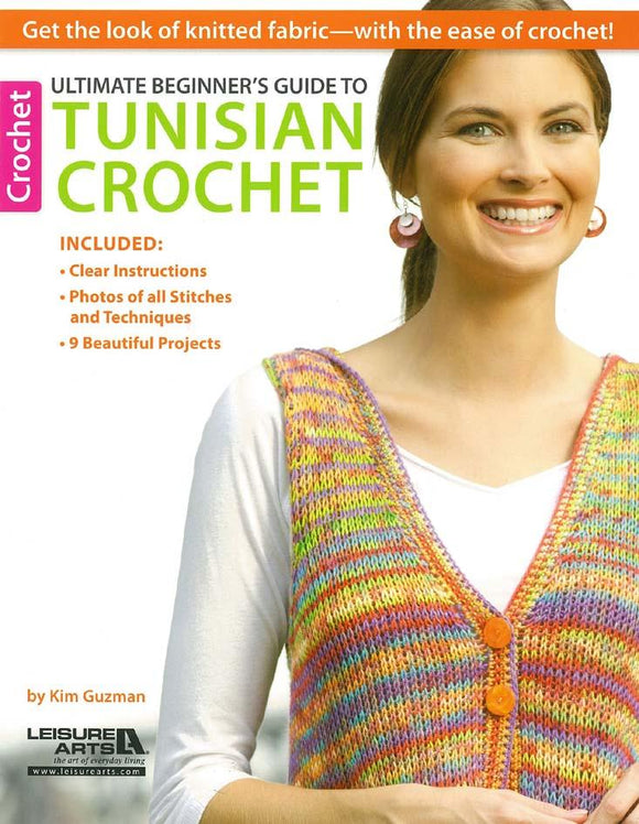 Ultimate Beginners Guide to Tunisian Crochet - [product-vendor] - Craftco Ltd - NZ